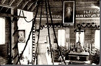 El cuadro en la iglesia de Nowa Ruda actualmente Bielorrusia (1949-1986)