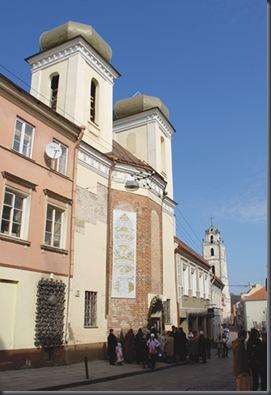 Santuario de la Divina Misericordia de Vilnius (Vilna), Lituania.