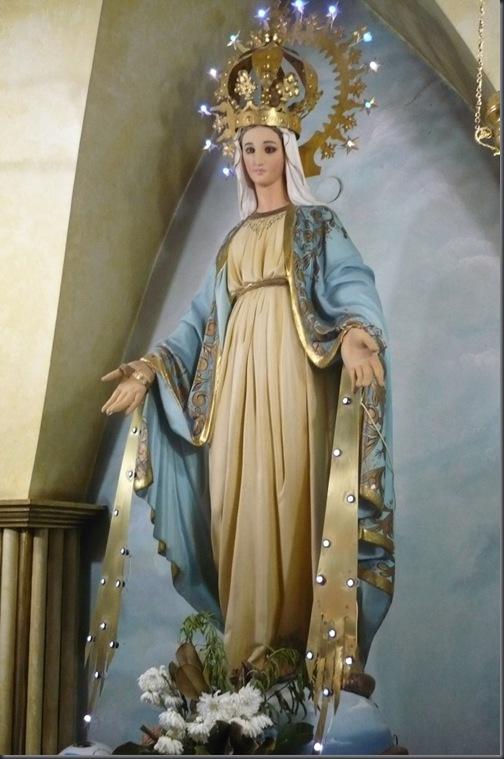 charla Virgen pecho grande